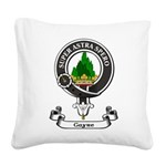 Badge - Gayre Square Canvas Pillow