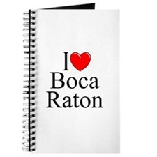 """I Love Boca Raton"" Journal"