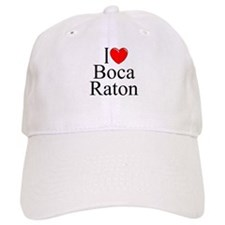 """I Love Boca Raton"" Baseball Cap"