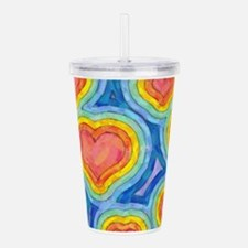 Cute Connect Acrylic Double-wall Tumbler