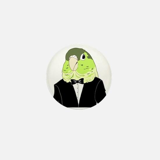 Cute Green cheek conure Mini Button