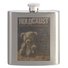 We Stand With Israel Flask
