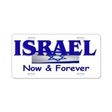 We Stand With Israel Aluminum License Plate