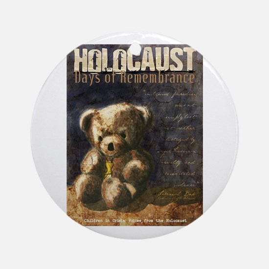 Holocaust Remembrance Day Round Ornament