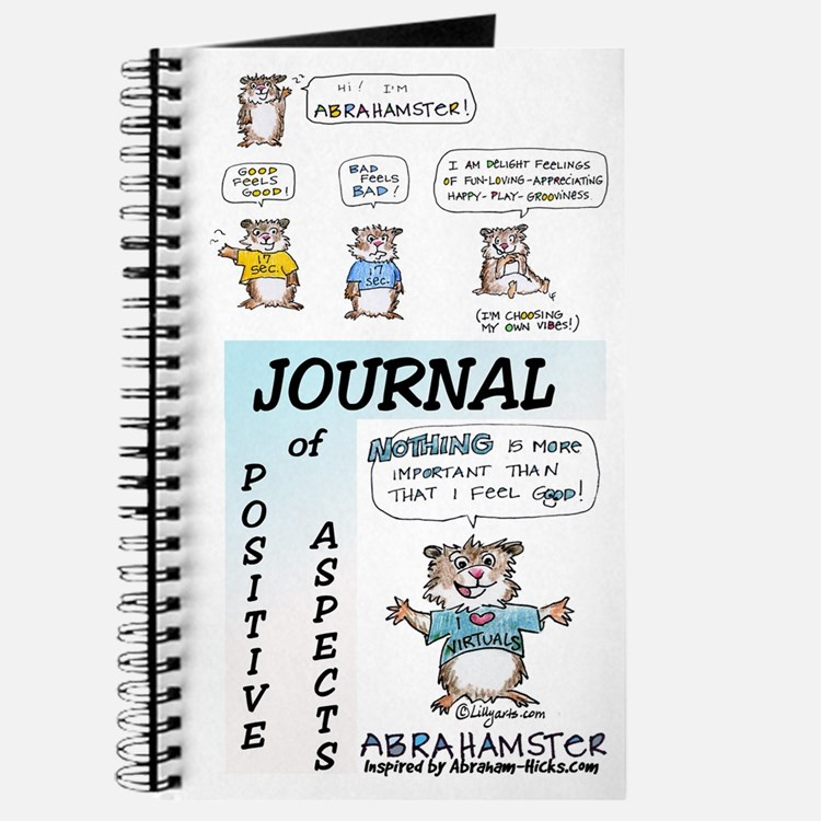 """Abrahamster Journal of Positive Aspects 8x5"""""""