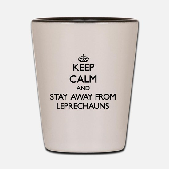 Funny Irish keep calm Shot Glass