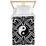 Yin yang Twin Duvet Covers