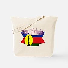 New Caledonian flag ribbon Tote Bag