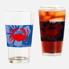Cute Cheap crab pots Drinking Glass