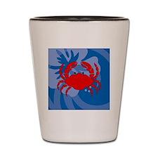 Unique Crab boiling pot Shot Glass