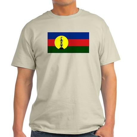 New Caledonia flag. The Kanak flag! Light T-Shirt