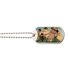 Round the Ring of Roses Dog Tags