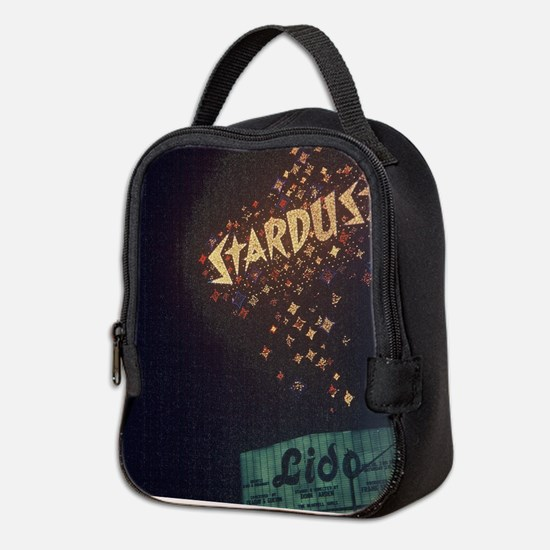 Vintage Stardust Hotel Las Neoprene Lunch Bag