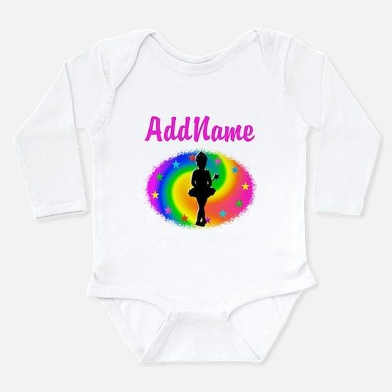 LOVE BALLET Long Sleeve Infant Bodysuit