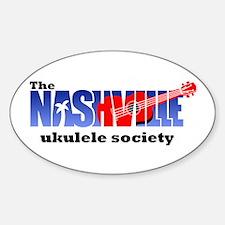 Nashville Ukulele Society Oval Decal