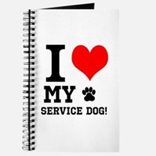 I LOVE MY SERVICE DOG! Journal