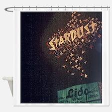 Vintage Stardust Hotel Las Vegas Shower Curtain