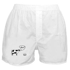 Cow to burger mom Boxer Shorts