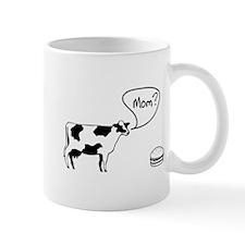 Cow to burger mom Mugs