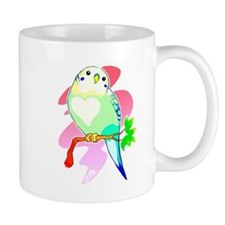 Rainbow Parakeet Mugs