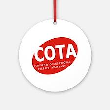 COTA  Ornament (Round)