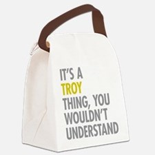 Its A Troy Thing Canvas Lunch Bag