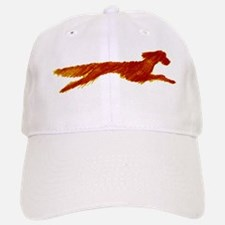 Leaping Irish Setter Baseball Baseball Cap