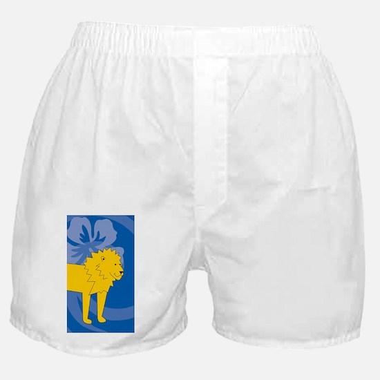 Cute Laura lion Boxer Shorts