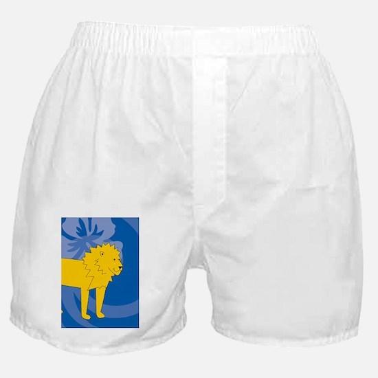 Funny Laura lion Boxer Shorts
