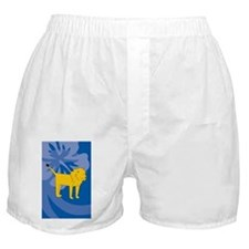 Cute Lion king ticket Boxer Shorts
