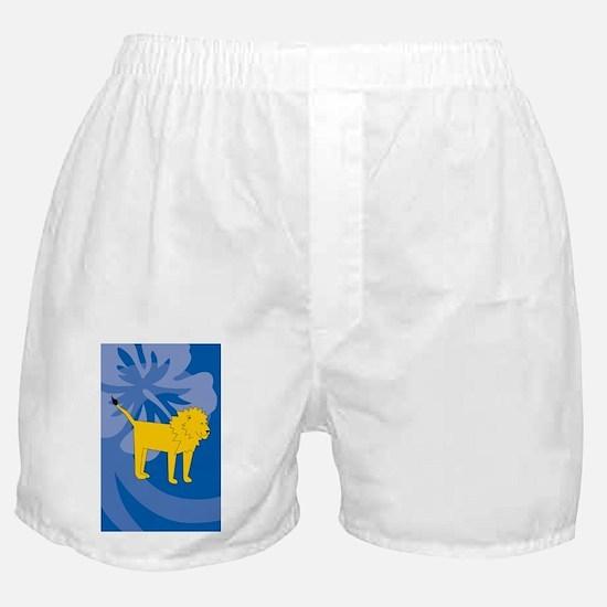 Unique Laura lion Boxer Shorts