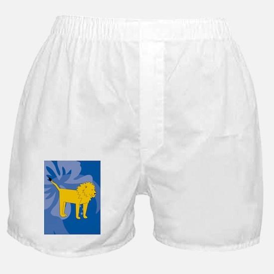 Laura lion Boxer Shorts