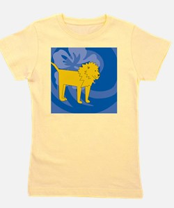 Cute Lion king ticket Girl's Tee