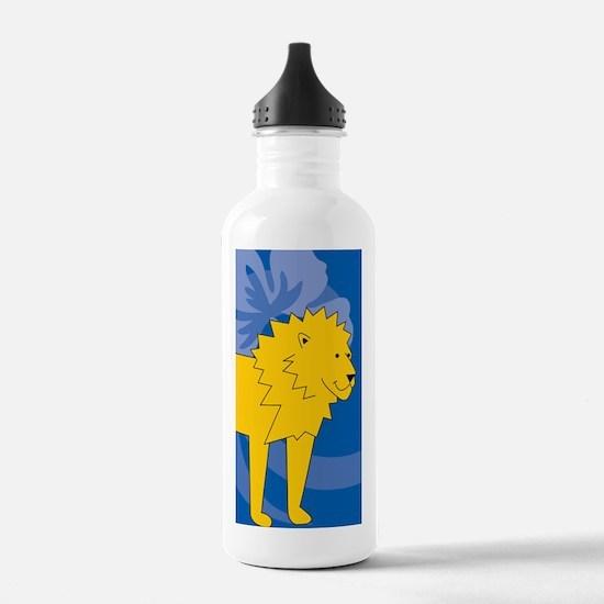 Cool Laura lion Water Bottle