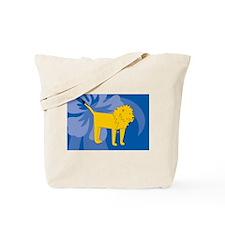 Unique Food lion Tote Bag
