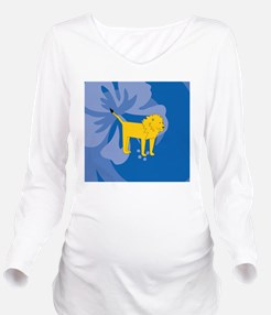 Cool Lion pictures Long Sleeve Maternity T-Shirt