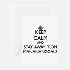 Keep calm and stay away from Manananggals Greeting