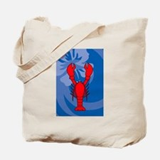 Cute Cooking lobster Tote Bag