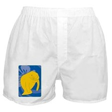 Cute Manatee county Boxer Shorts