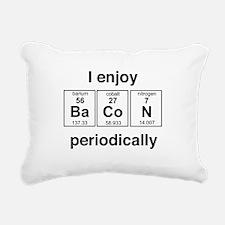 Enjoy Bacon periodically Rectangular Canvas Pillow