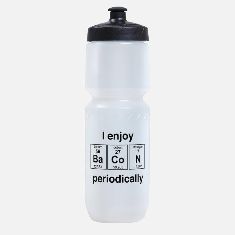 Enjoy Bacon periodically Sports Bottle
