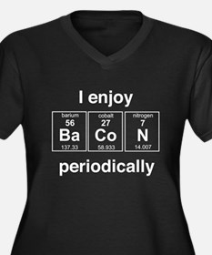 Enjoy Bacon periodically Plus Size T-Shirt