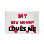 My NEW MOMMY Loves Me Rectangle Magnet (10 pack)