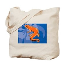Cool Fire belly newt Tote Bag