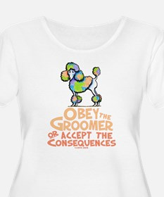 Obey The Groomer Plus Size T-Shirt