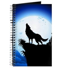 Wolf Howling at Blue Moon Journal