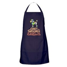 Obey The Groomer Apron (dark)