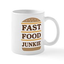 Fast food junkie Mugs