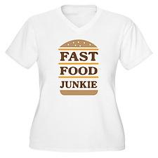 Fast food junkie Plus Size T-Shirt