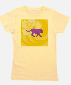 Cute The pink panther Girl's Tee